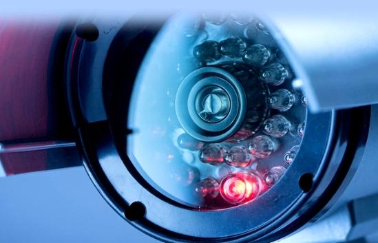 Câmera de vídeo monitoramento