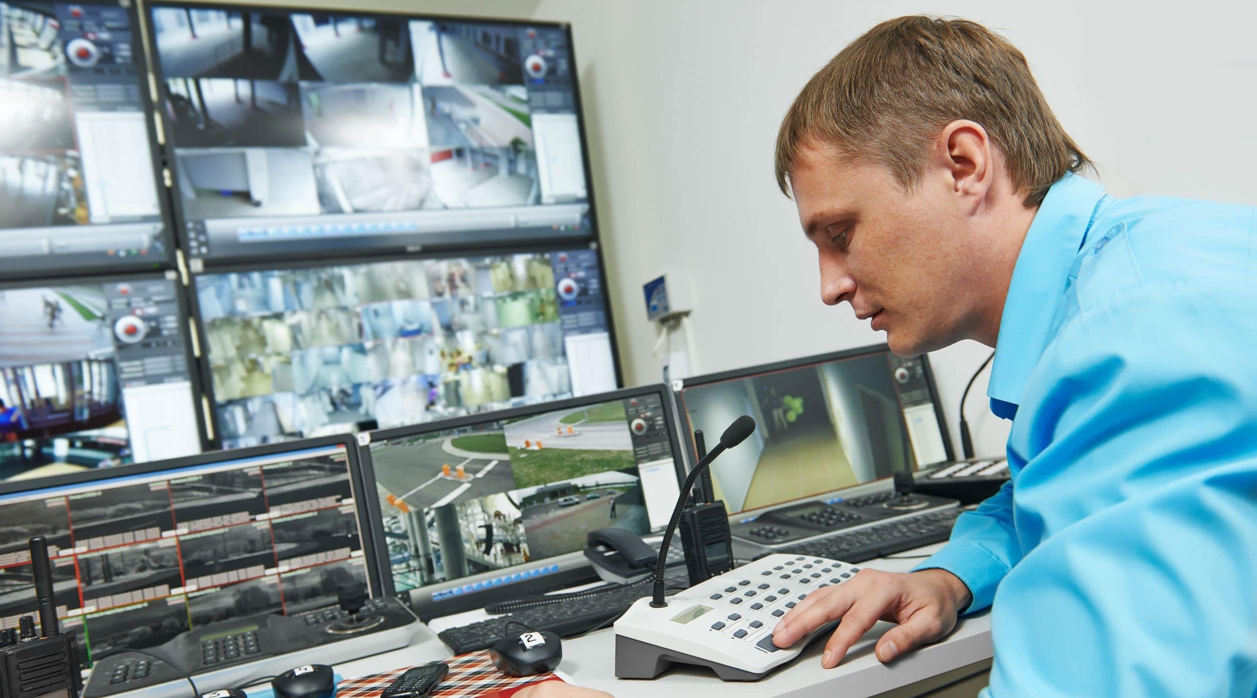 Segurança vídeo monitoramento